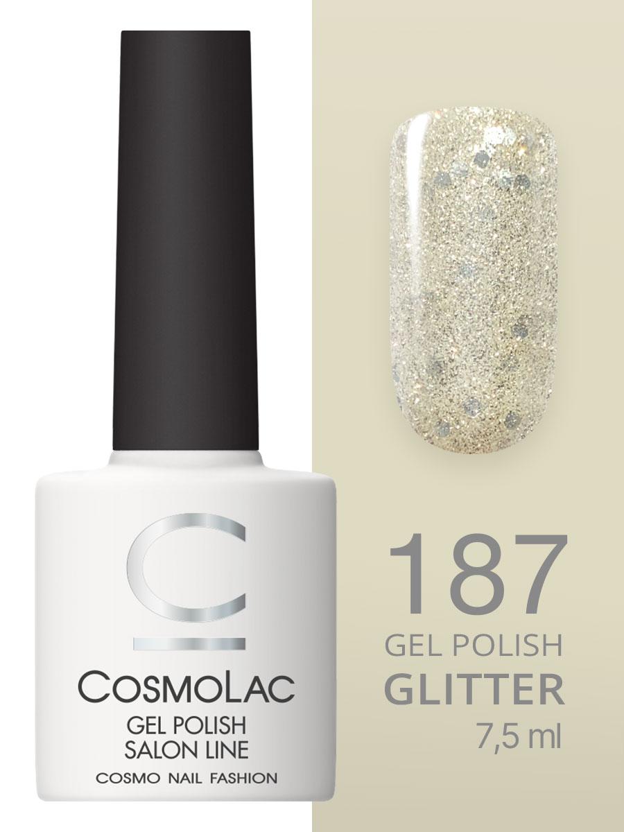 Гель-лак Cosmolac Gel polish №187 Звезды на ладонях