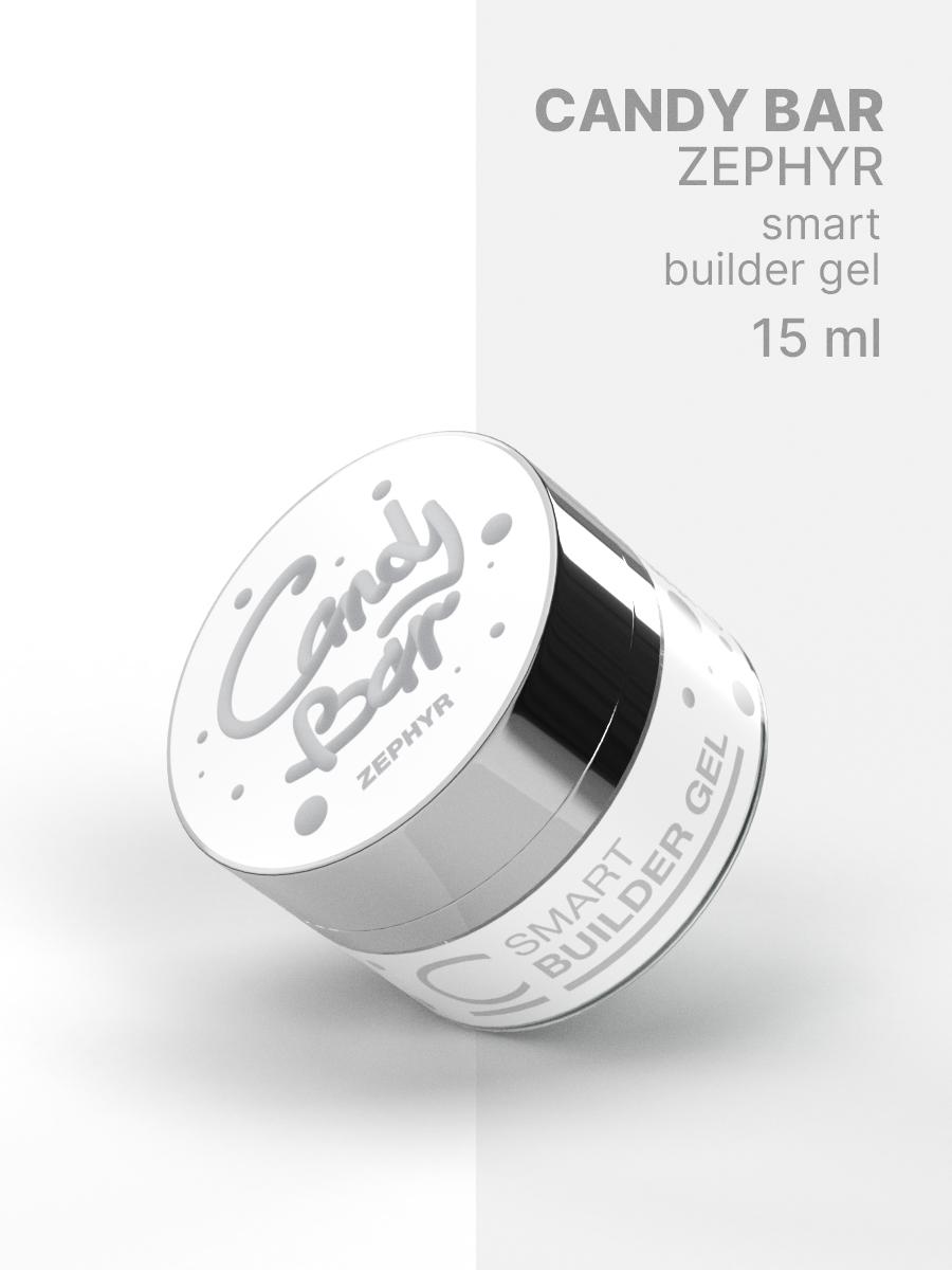 Гель для наращивания Cosmogel Builder CANDY BAR SMART Zephyr
