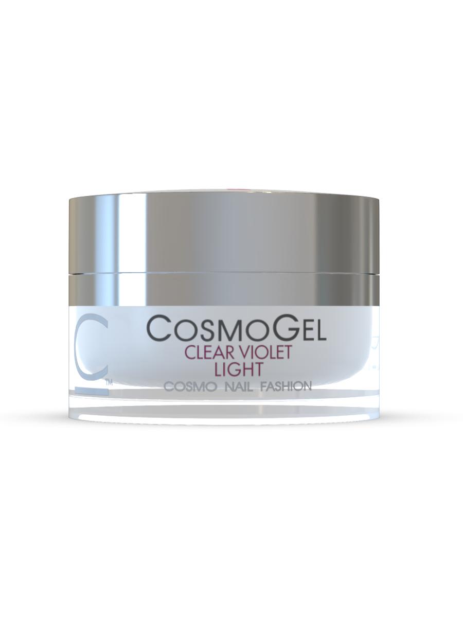 Гель для наращивания Cosmogel Builder CLEAR VIOLET LIGHT