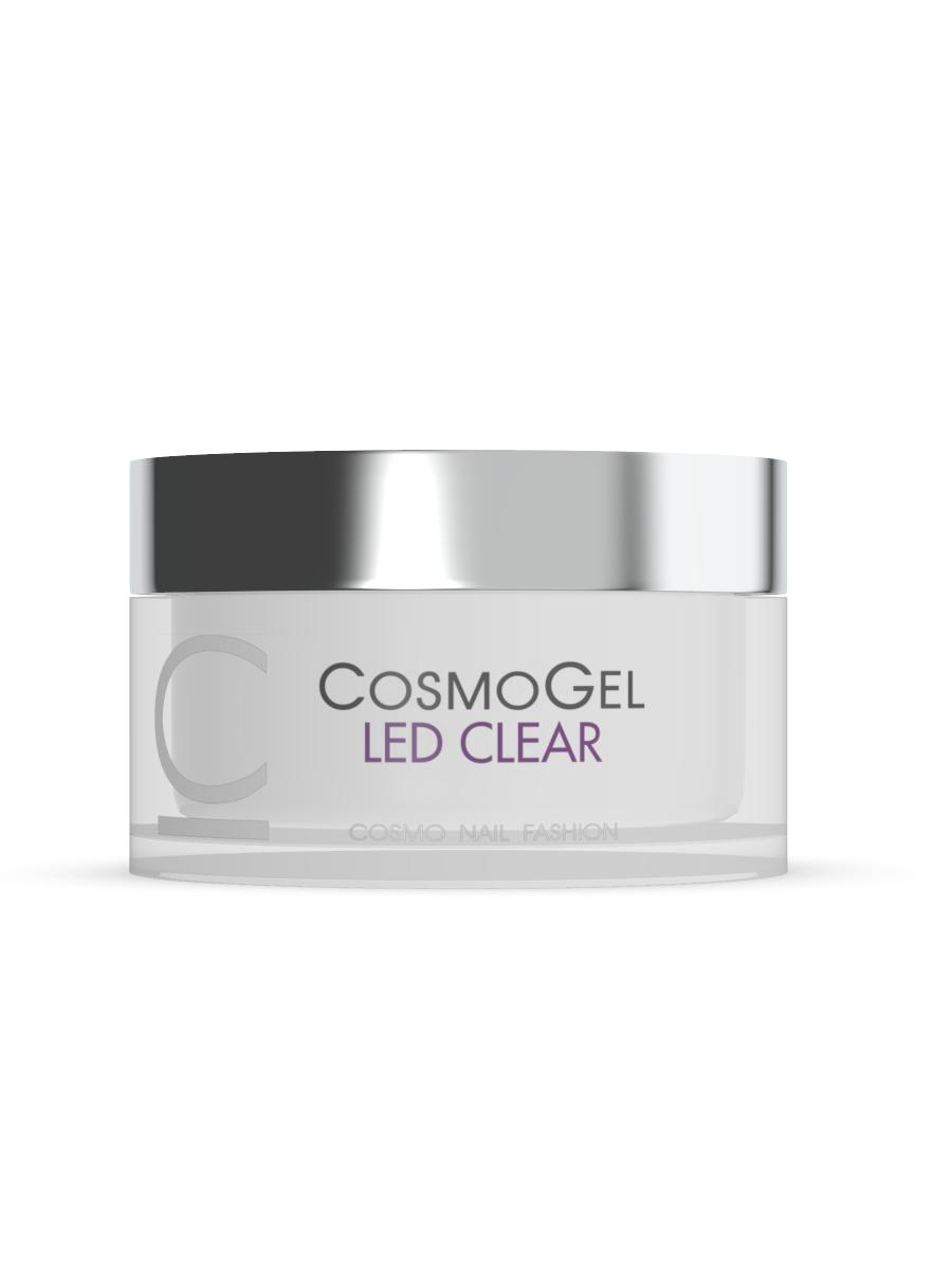 Гель для наращивания Cosmogel Builder LED Clear