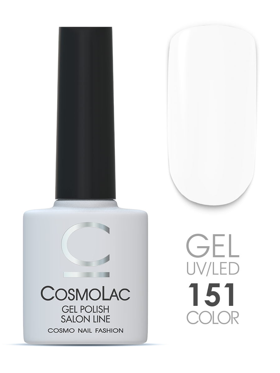 Гель-лак Cosmolac Gel polish №151 Белый ангел