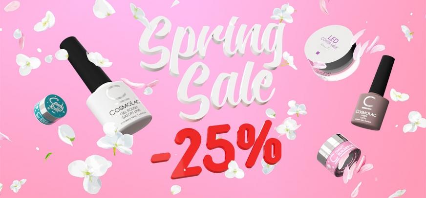 CosmoLac Spring Sale