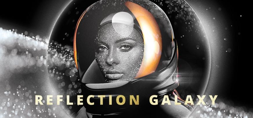 Коллекция гель-лаков «Reflection Galaxy» с эффектом «фликеры»
